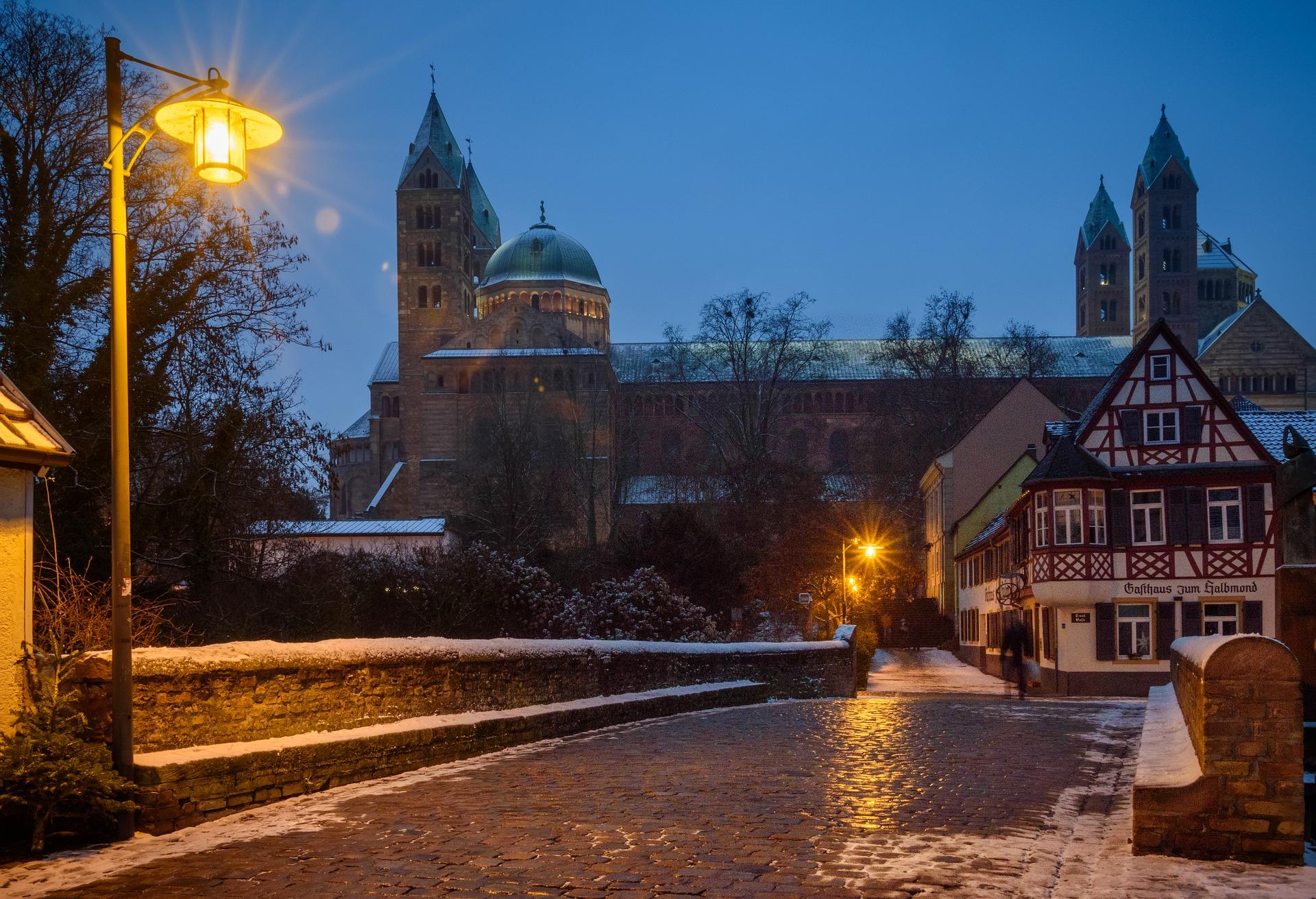 Speyer Kaiserdom im Winter