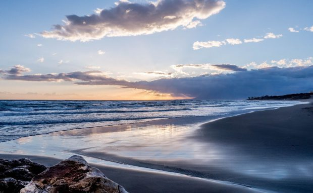 Sonnenuntergang an der Costa del Sol // Bild: Pixabay (CC0)