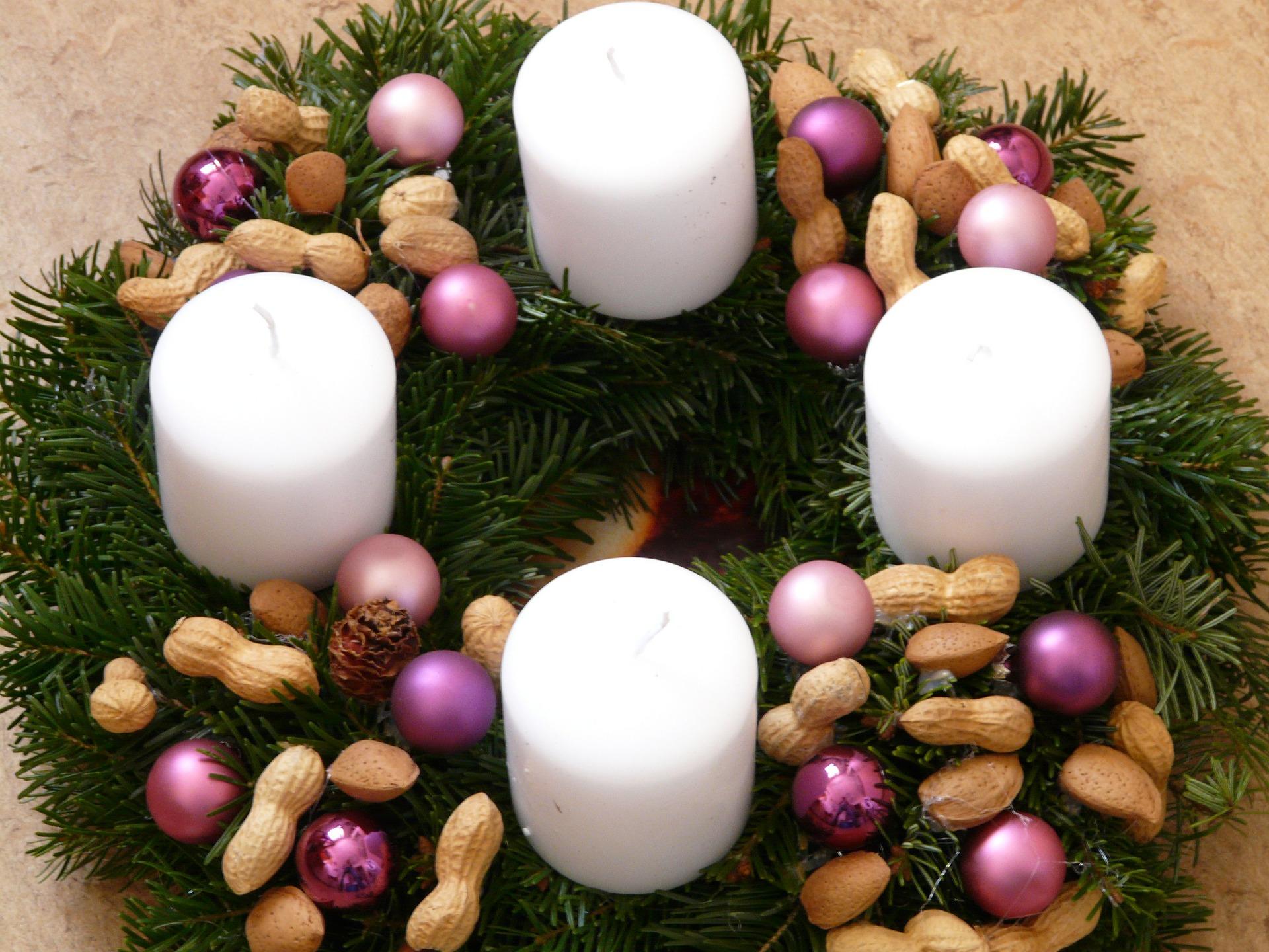 Tisch Deko Weihnachten