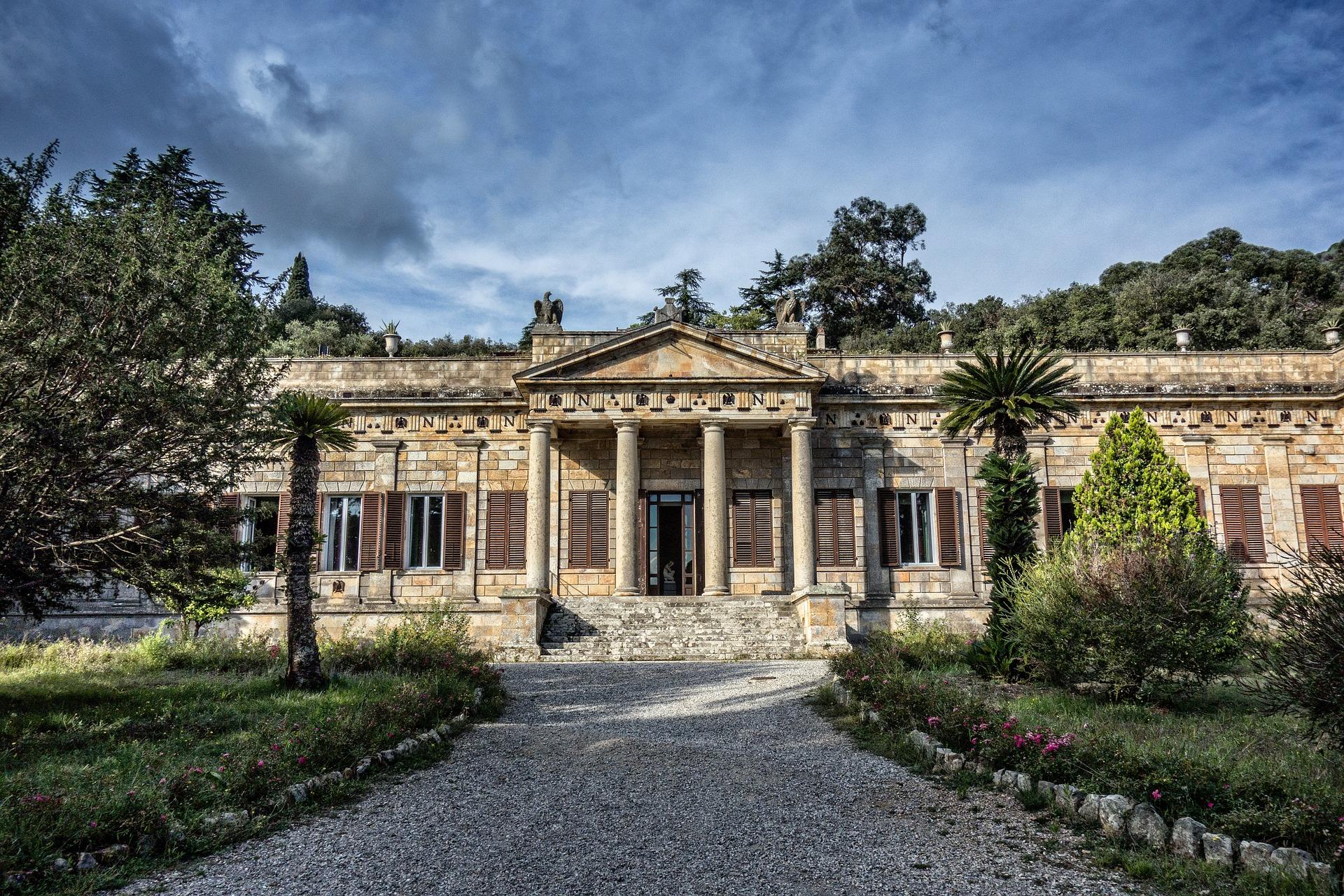 Napoleon's Villa auf Elba