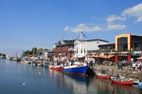 Segelboothafen / Alter Strom