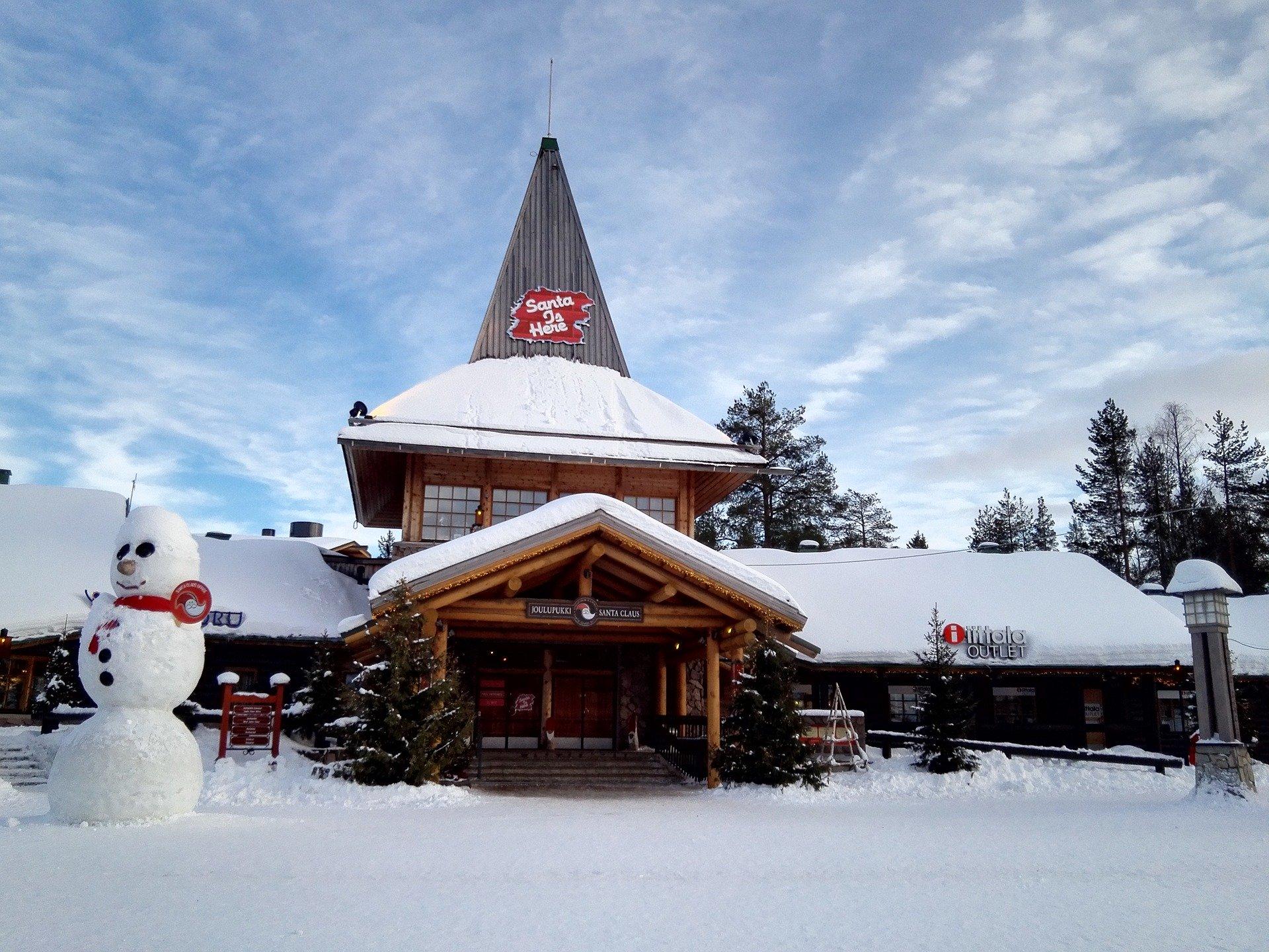 Weihnachtsmanndorf am Polarkreis in Rovaniemi