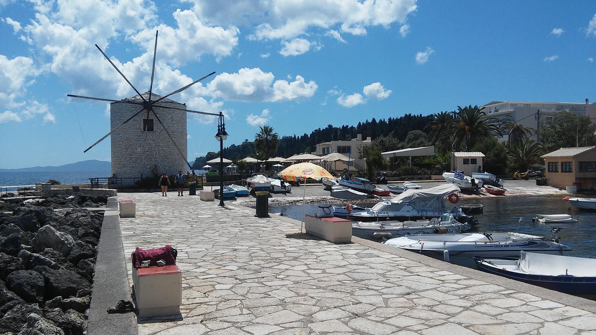 Windmühle auf Korfu