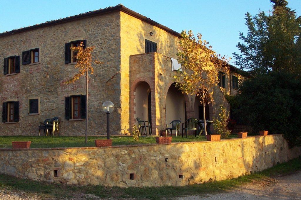 Ein typisches Landhaus in der Toskana.