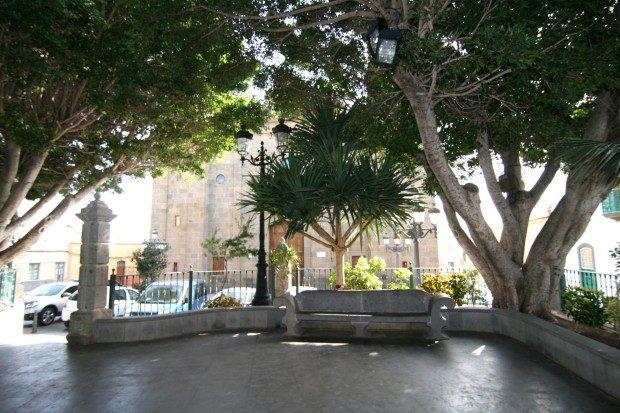 Plaza del Rosario vor der Kirche / Copyright © Marion Hagedorn/InterDomizil